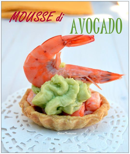Mousse di avocado