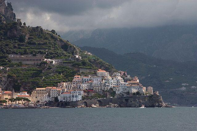 Wybrzeże Amalfitańskie - między Positano a Amalfi