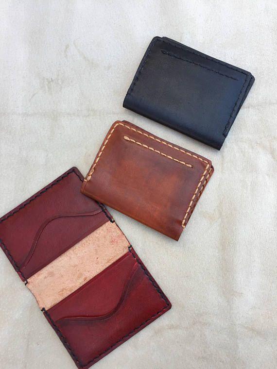 Personalized leather Cardholder/ vegetable tanned leather/ business cardholder/ slim cardholder/card-holder/ personalization gift/ groomsmen