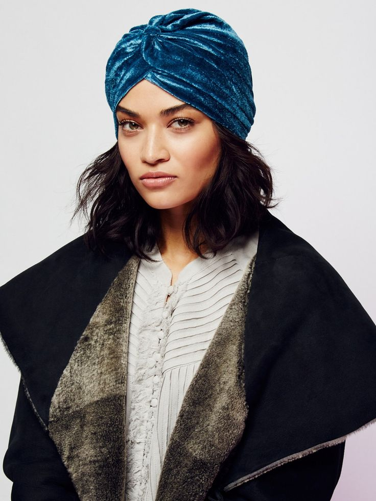 All Access Velvet Turban | Glam velvet turban with a cute front knotted detail.