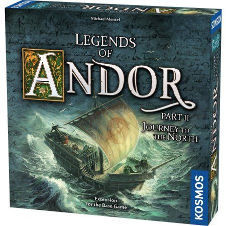 Thames & Kosmos Legends of Andor: Journey to the North Expansion Pack