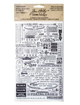 Tim Holtz® Idea-ology Paperie - Remnant Rubs - Special Delivery