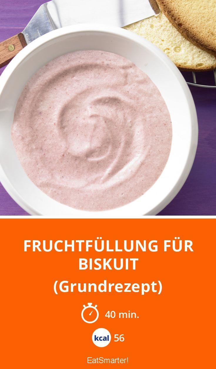 Fruchtfüllung für Biskuit - (Grundrezept) - smarter - Kalorien: 56 Kcal - Zeit: 40 Min. | eatsmarter.de