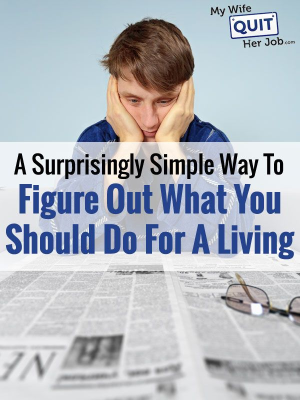 How To Figure Out What You Should Do For A Living If You Hate Your Job