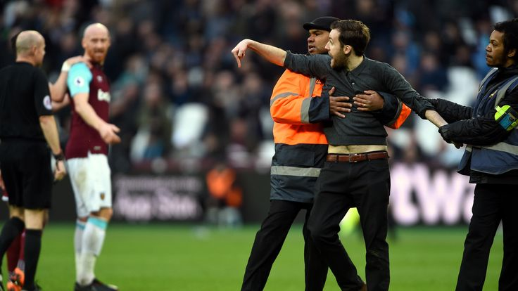 West Ham fans protest on dark afternoon at London Stadium #News #Burnley #composite #Football #MatchReports