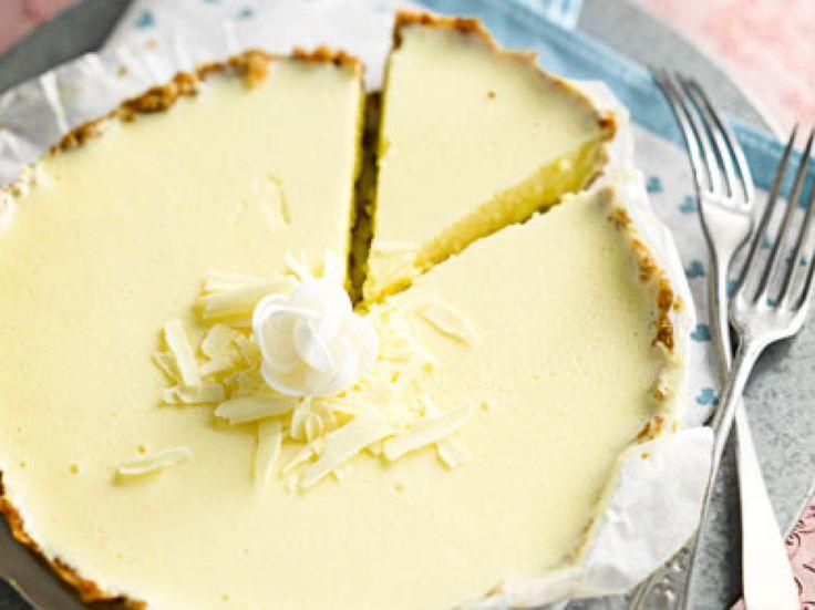 Cheesecake met witte chocolade - Libelle Lekker
