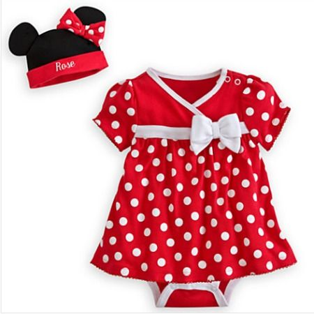 Stylish in Red Disney Baby Clothes | Disney Baby