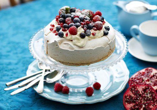 KitchenAid Stand Mixer recipe - Vanilla snow pavlova recipe