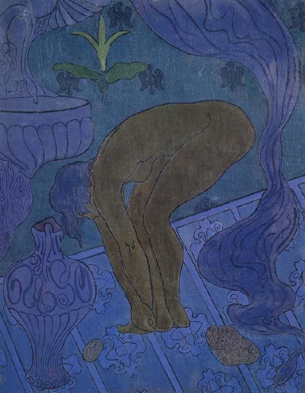 the sorceress and the cat Paul Ranson Wholesale Oil Painting China ...