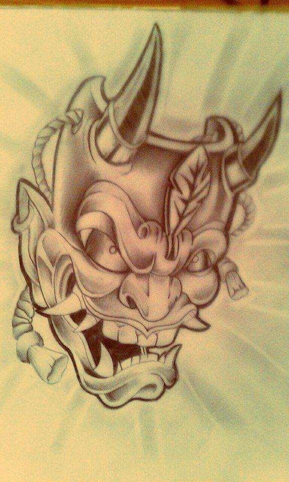 HANNYA MASK TATTOO by Malitia-tattoo89 on deviantART