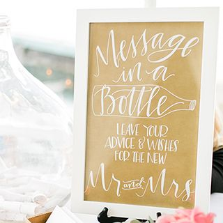 Lovely idea! What advice would you give the happy couple? #Wedding #Ideas #Love #ForeverAfter
