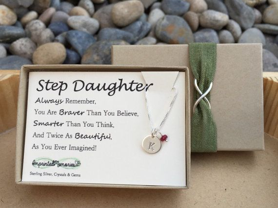 Wedding Gift To Step Daughter : Stepdaughter gift - gift for stepdaughter from step mom dad - tiny ...