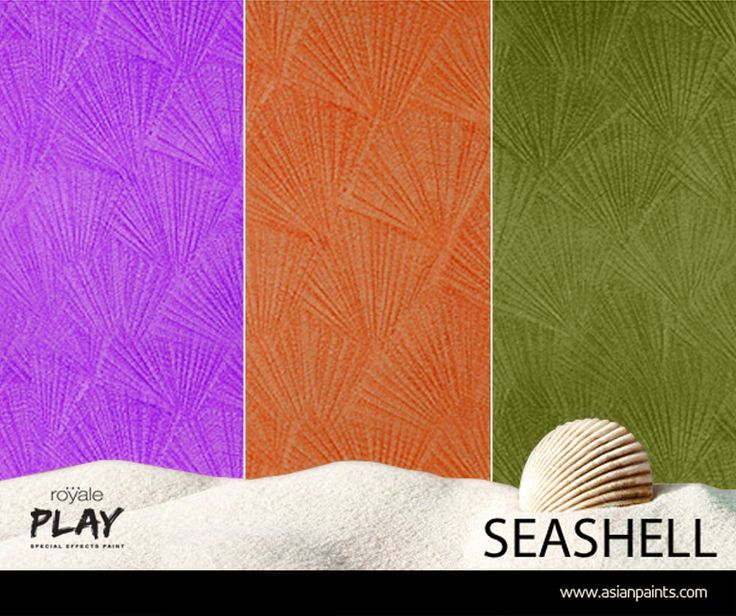 Now experience the calming effect of the sea in your for Asian paints textured wall decoration