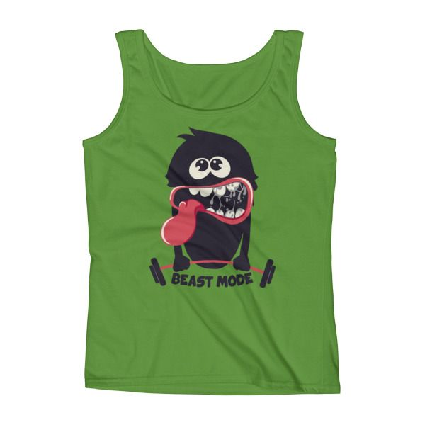 Ladies' BEAST - Mode Workout Tank Top NEW for Women To buy NOW visit https://whatdevotion.com/shop/womens-clothing/tank-tops-womens-clothing/ladies-beast-mode-workout-tank-top/  ==> Tag friends who would love this one ;) Don't Forget to Like/Share to receive our promotions !!