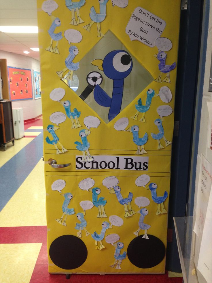 Don\u0027t Let The Pigeon Drive The Bus! Door decorating & 16 best pigeon images on Pinterest | Mo willems Pigeon books and ... Pezcame.Com