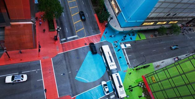 Color Jam | jessica stockholder  That's how our cities should look like instead of this whole grayness.
