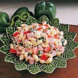 Ham Pasta Salad: Pasta Salad Recipes, Hams, Pasta Recipes, Ham Recipes, Recipes Salads, Pasta Rice Recipes, Pepperoni Pasta Salads, Favorite Recipes, Ham Pasta Salads