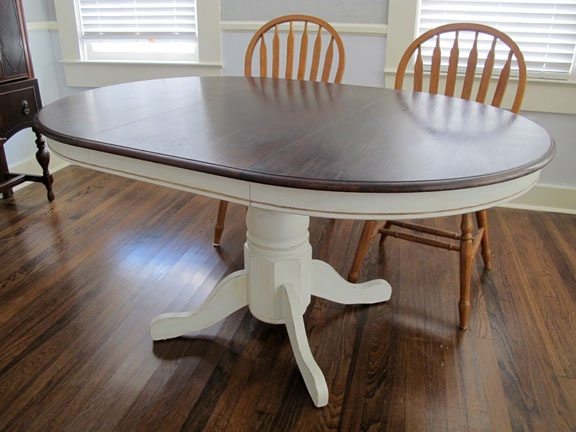 7 best images about kitchen table revamp on pinterest kitchen table makeover old kitchen - Kitchen table redo ...