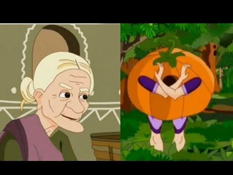 The Old Woman And The Pumpkin - Animated English Story For Kids