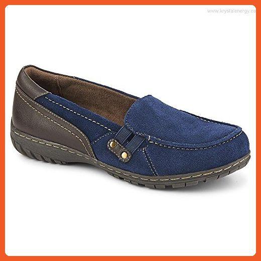 Women's Natural Soul, Rhett Slip on Shoes Navy 7.5 - Loafers and slip ons for women (*Amazon Partner-Link)