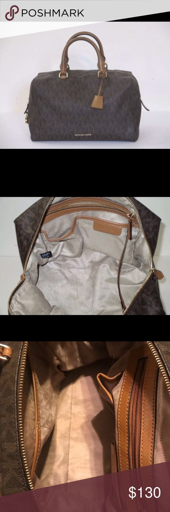 Michael Kors Handbag Used in great condition, purchase from Macy's! Smoke free! Michael Kors Bags Satchels
