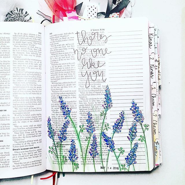Bible Journaling by Kelsie @kelsienoellee
