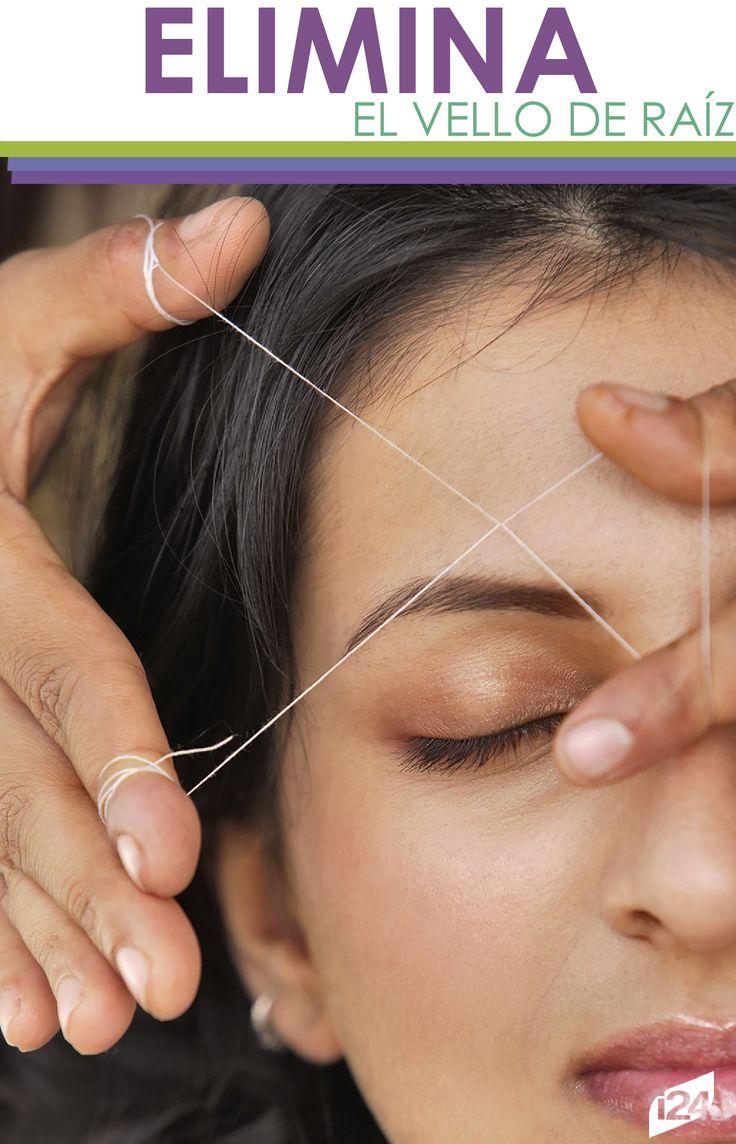 Olvídate del dolor y de la irritación con la depilación con hilo. Conoce sus beneficios. #Belleza #Femenina