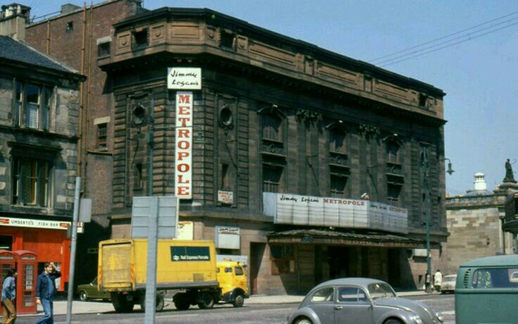 Metropole Theatre, St George's Road, Glasgow (May 1975)