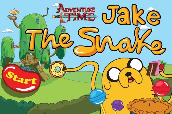 Adventure Time Jake the Snake game