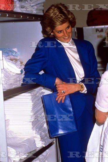 May 12 1988 Princess Diana visiting Sheringham, Norfolk
