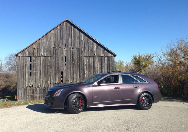 Cts V Wagon Majestic Plum Metallic Pictures