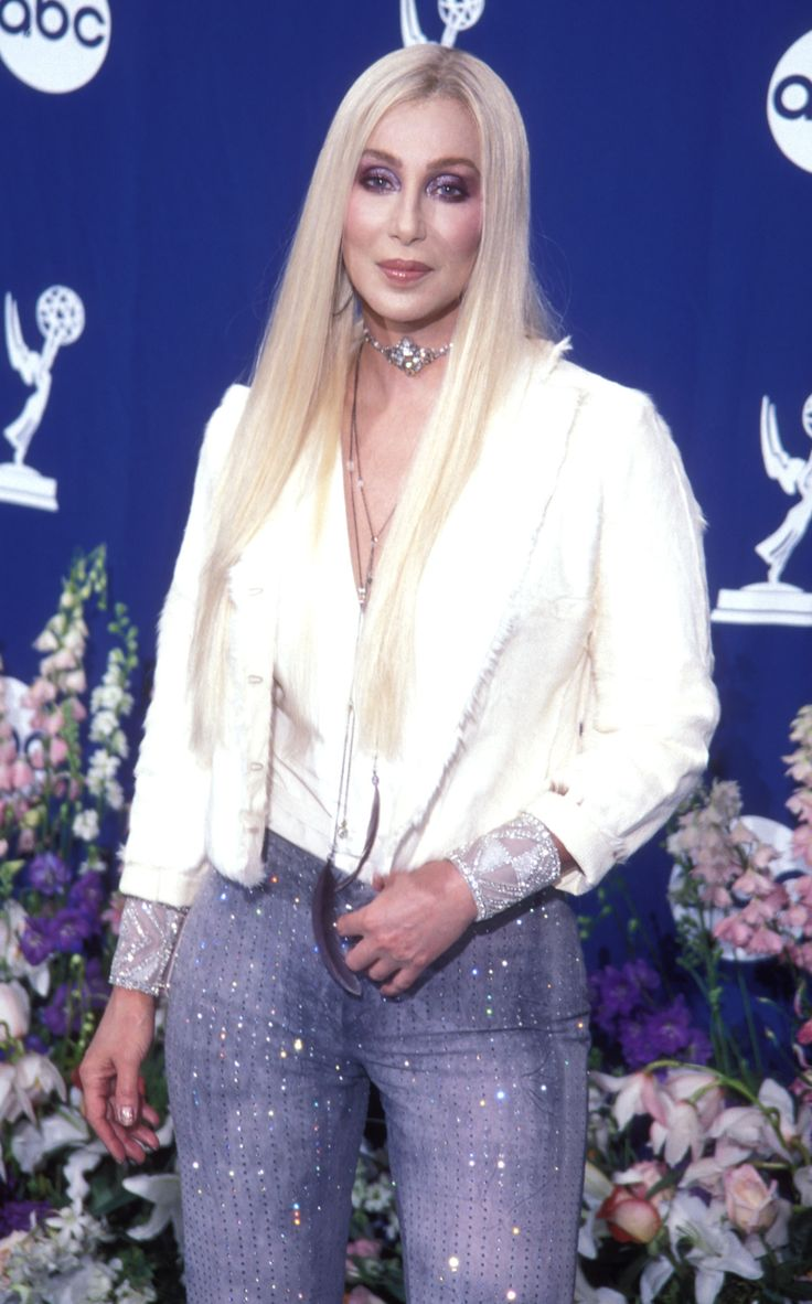 Who said super blonde hair is only for young women? At 54, Cher showed off her bleached locks at the 52nd Emmy Awards and looked amazing.  - GoodHousekeeping.com
