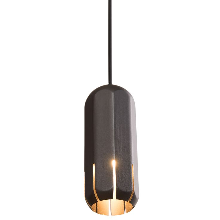 The Brixton Spot Pendant was inspired by Victorian railways and the residential architecture of south London. The spot pendants are extremely flexible for a range of installation options, with a solid, industrial feel. Available in three sizes with a Gloss White, Copper, or Graphite finish. Integrated 120 volt LED light source; dimmable via Triac dimmers. Small: 1.75 inch width x 4.5 inch height x 161 inch height. Medium: 1.75 inch width x 8 inch height x 165 inch maximum length. Large: 1.75…
