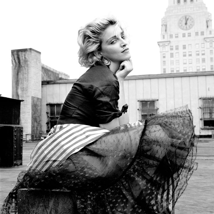 Madonna en los años 80, en la cúspide de su carrera.