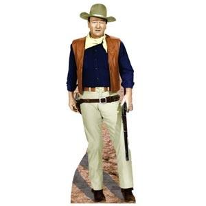 """John Wayne Cardboard Standup (6' 2"""" High)"""