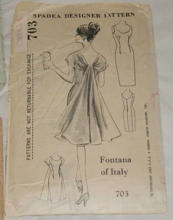 Adborbs! Lot of 4 Vintage Spadea Mail Order Women's Patterns | eBay