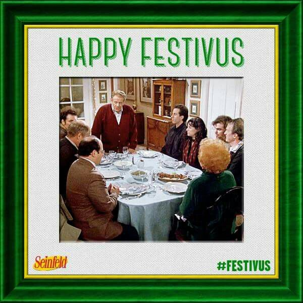 Happy Festivus! #quote #seinfeld