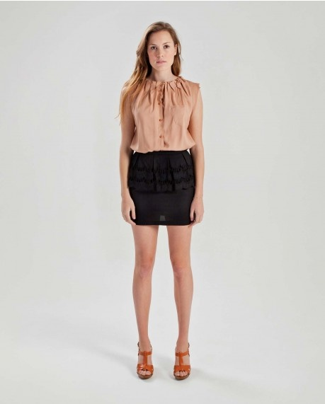 Gathered button up top $63.95