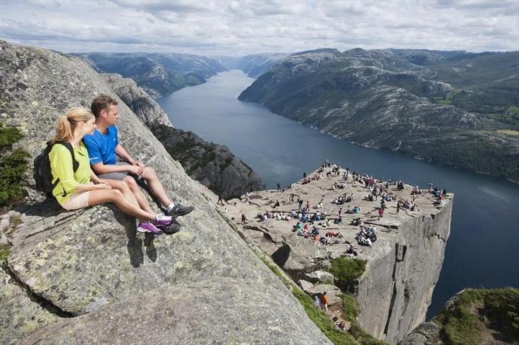 Preikestolen or The Pulpit Rock - Stavanger, Norway