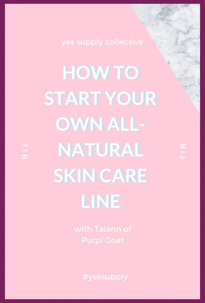 Business Ideas For Beginners With Little To No Start Up Costs All Natural Skin Care
