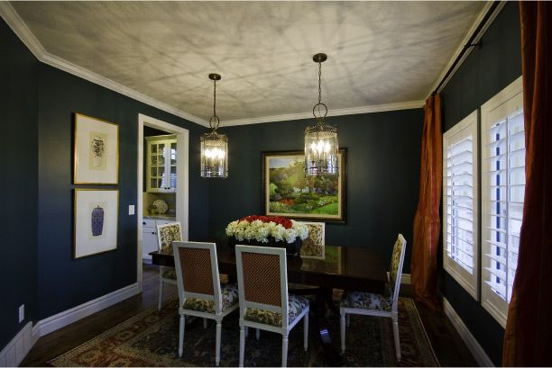 adding deep colors to your formal dining room can do wonders try it