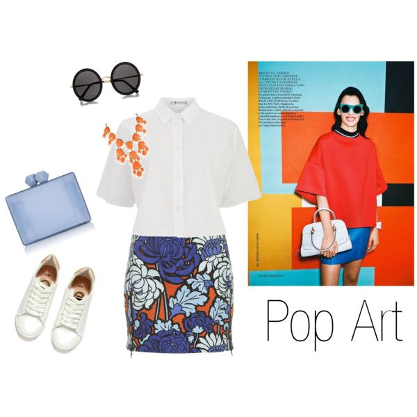"""Pop art w/ with sneakers"" by ninonptrs.fr on Polyvore"