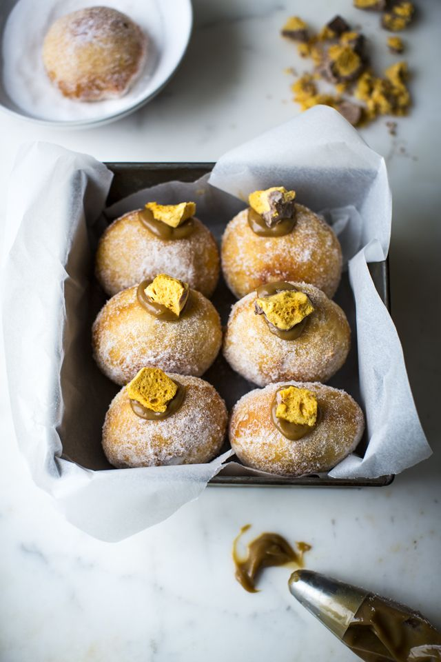 Salted Caramel & Honeycomb Doughnuts | DonalSkehan.com, These are life…