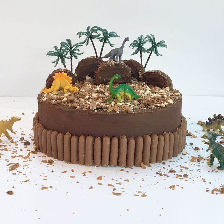 Dinosaur Land Cake Kit In 2019