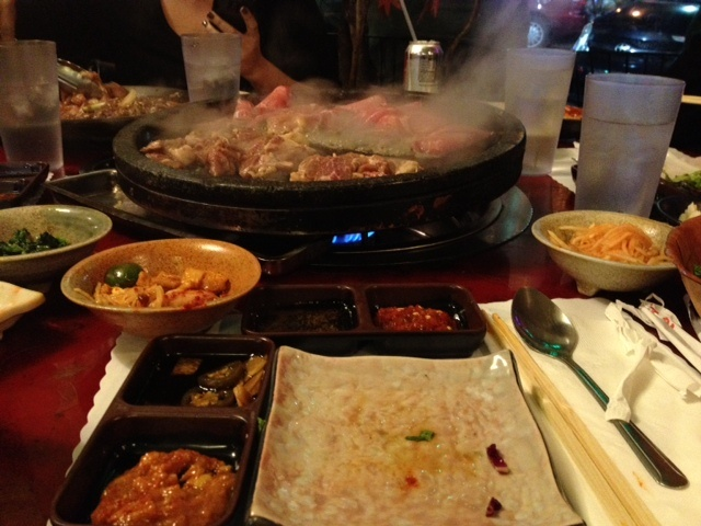 Haekangchon, LA  AYCE Korean BBQ; 2 hour wait... kinda worth it