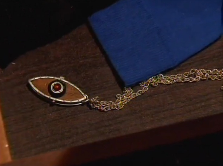 Eye of Horus: House of Anubis. I want to make one of these out of polymer clay. Sibuna, anyone?