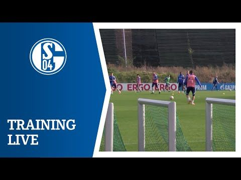FC Schalke 04 - Training LIVE (28.10.) - YouTube
