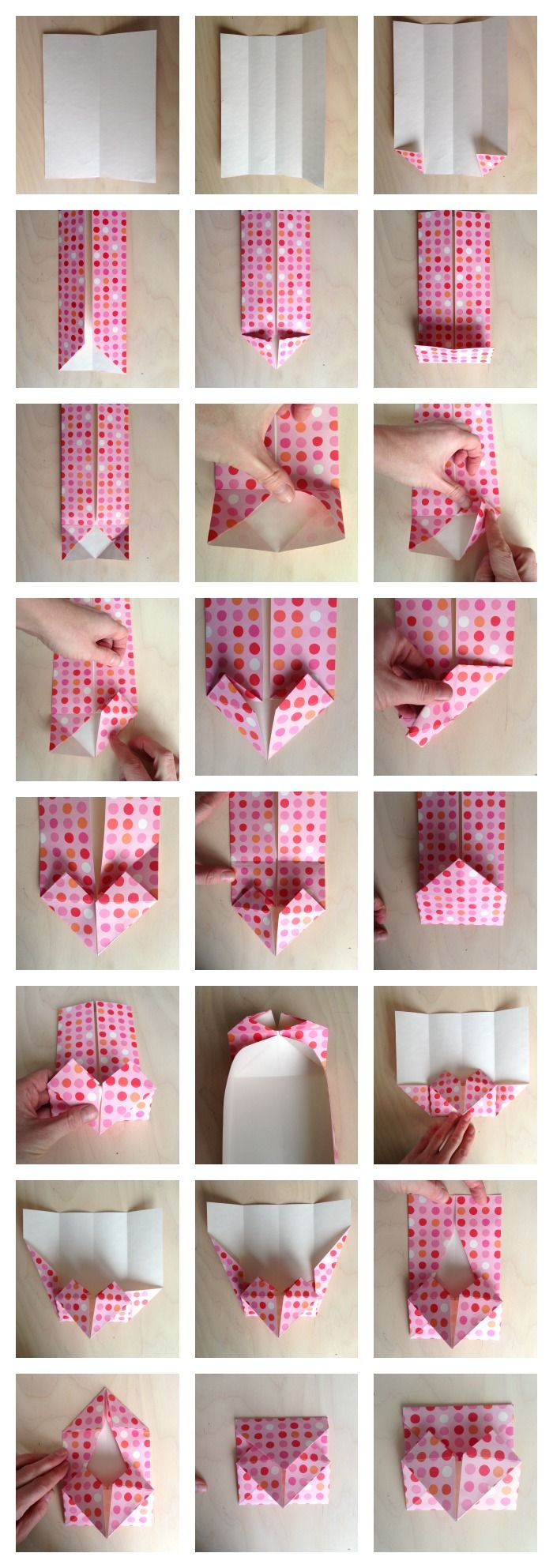How To Make An Origami Heart Envelope For Secret Notes Or To Use As A  Valentine