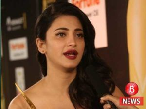 Its my face my body Shruti Haasan gives it back to those criticising her lip job