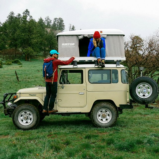 Off-roading with Topo Designs gear